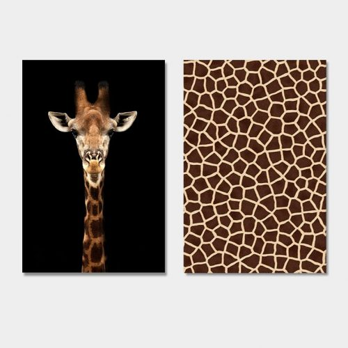 poster schilderij set giraf