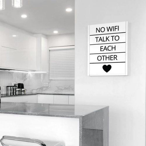 poster no wifi