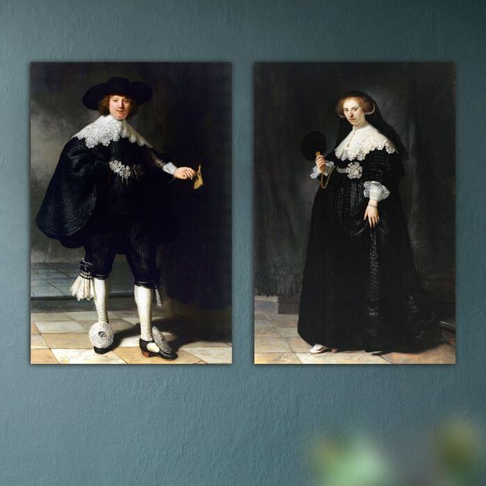 marten oopjen huwelijksportret rembrandt