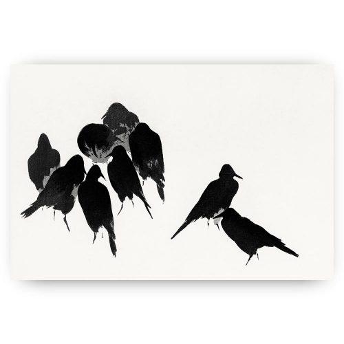 minimalistische vogels