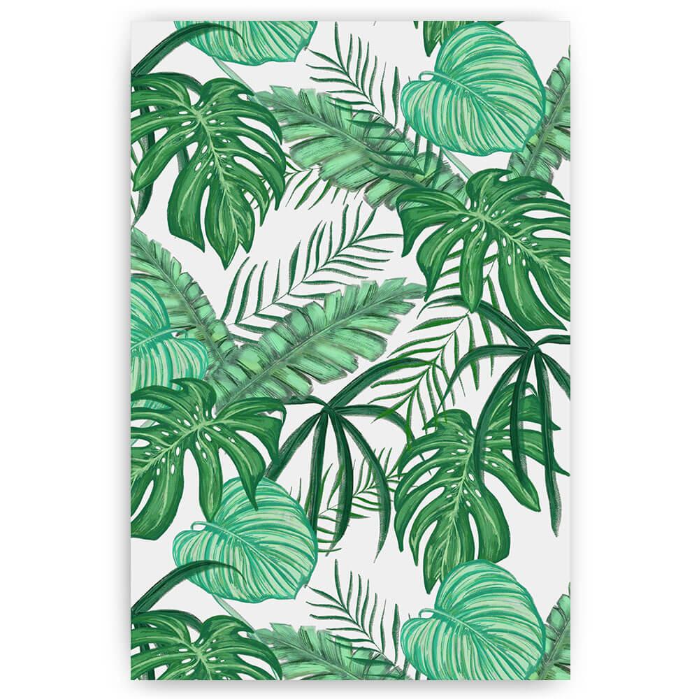 groene jungle bladeren