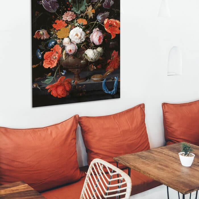 horeca decoratie posters en wanddecoratie in restaurant