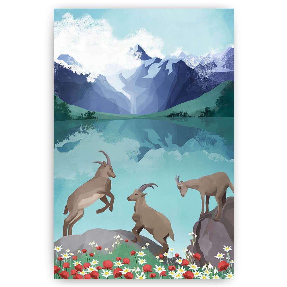 geiten berglandschap