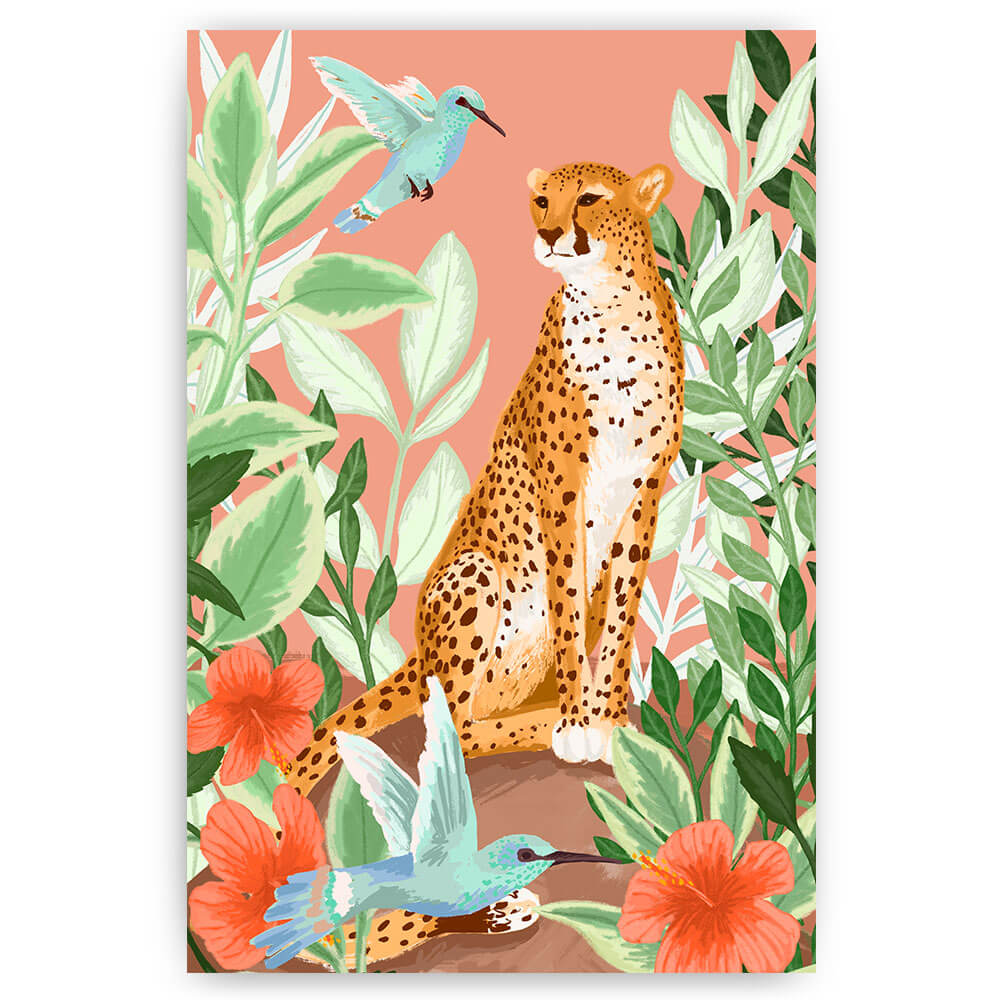 tropical cheetah