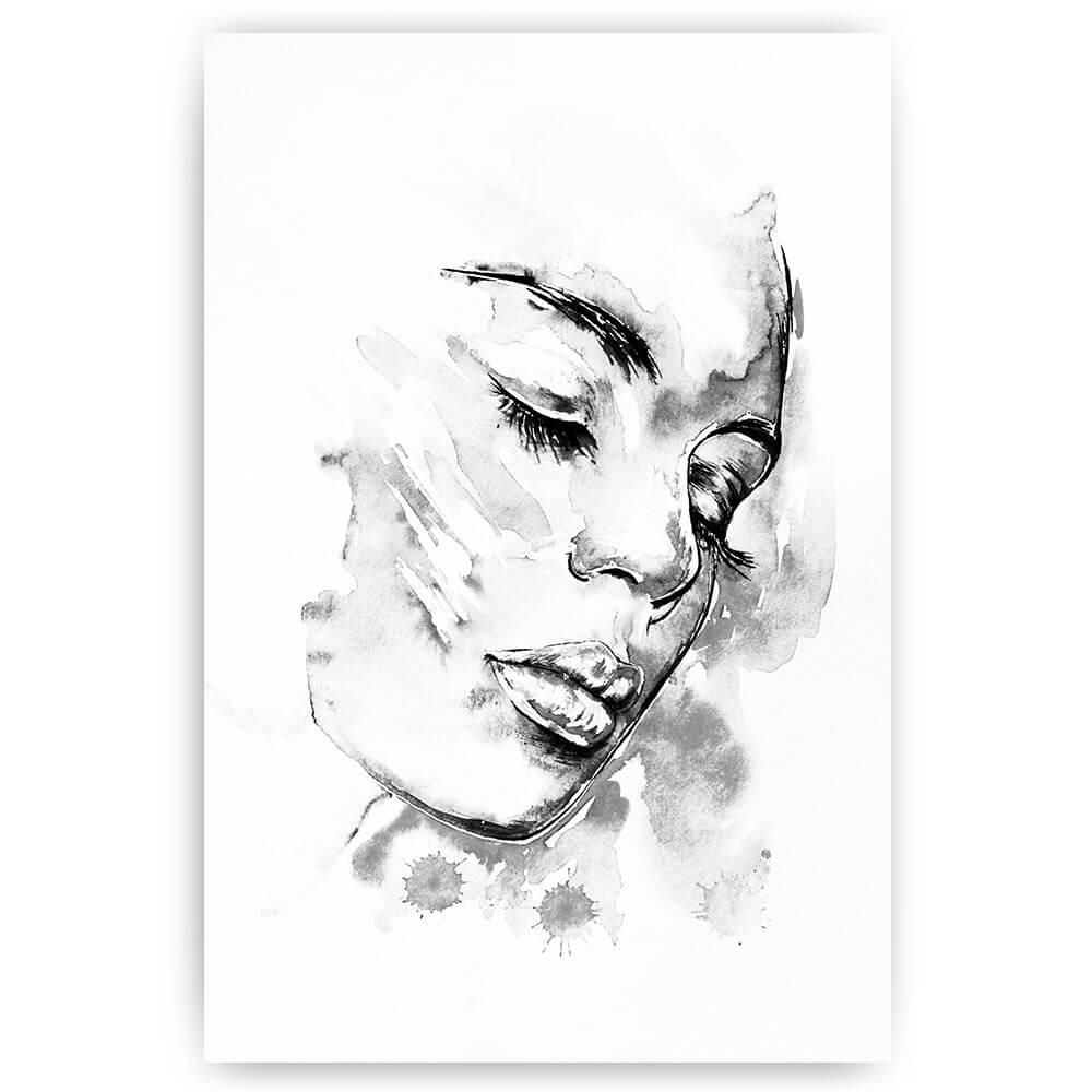 waterverf gezicht