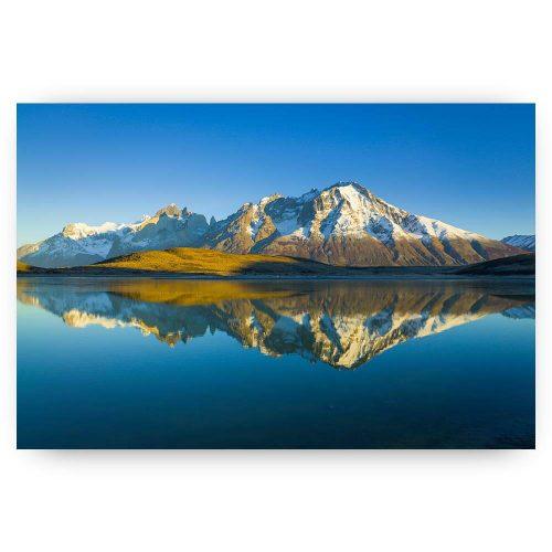 weerspiegeling in de bergen