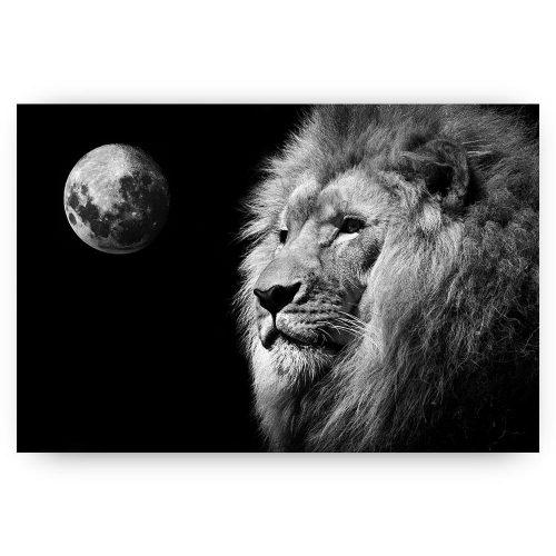 leeuw met maan