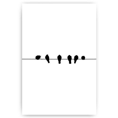 vogels op lijn