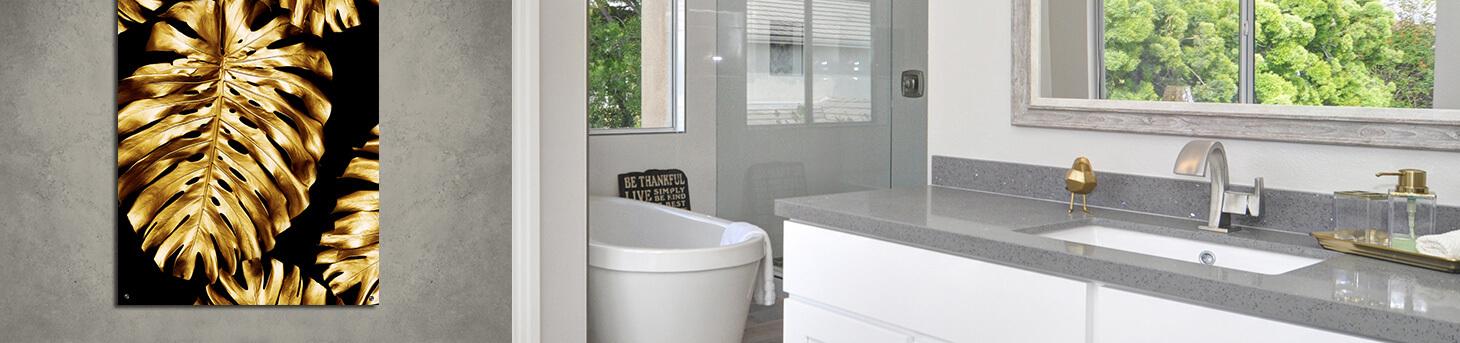 badkamer posters en schilderijen