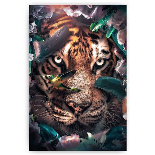 Kleurrijke tijger
