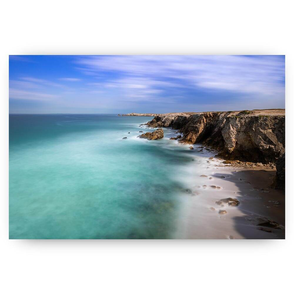 landschap bretagne kustlijn