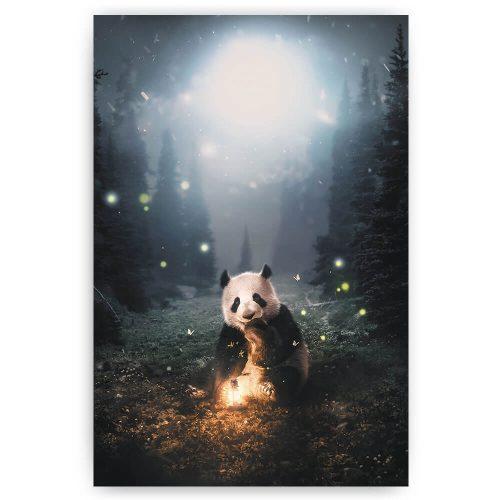 Panda in het bos