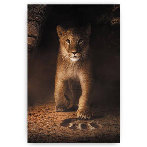 leeuwen welp print