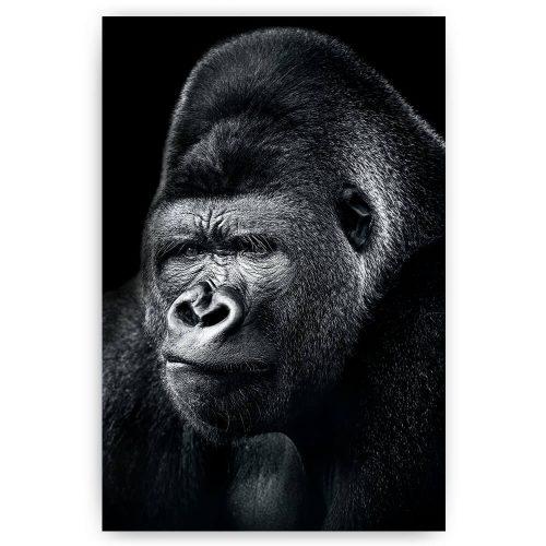 denkende gorilla aap