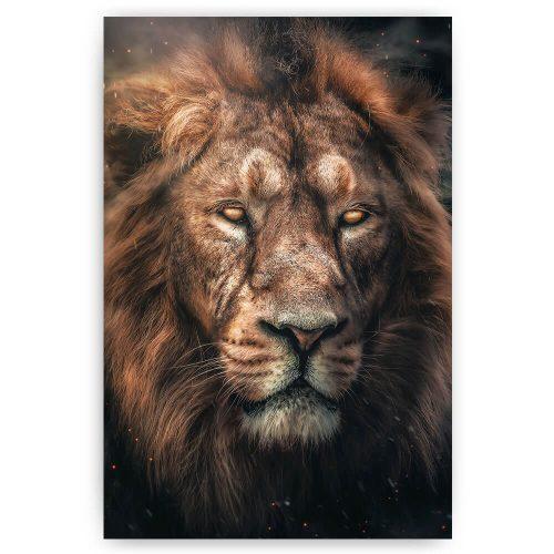 mysterieuze leeuw