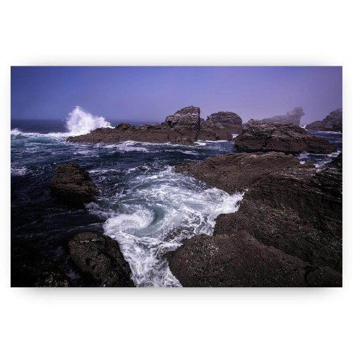 ruige zee landschap