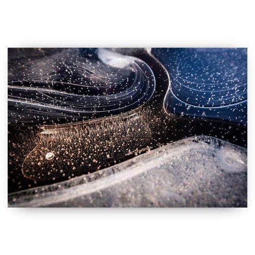 abstracte vormen ijs