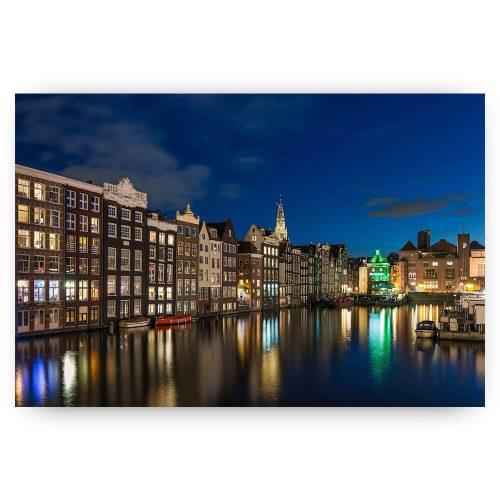 Poster Damrak Amsterdam