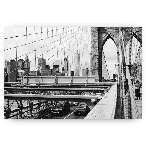 stadsaanzicht brug