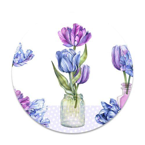 bloemen vaas
