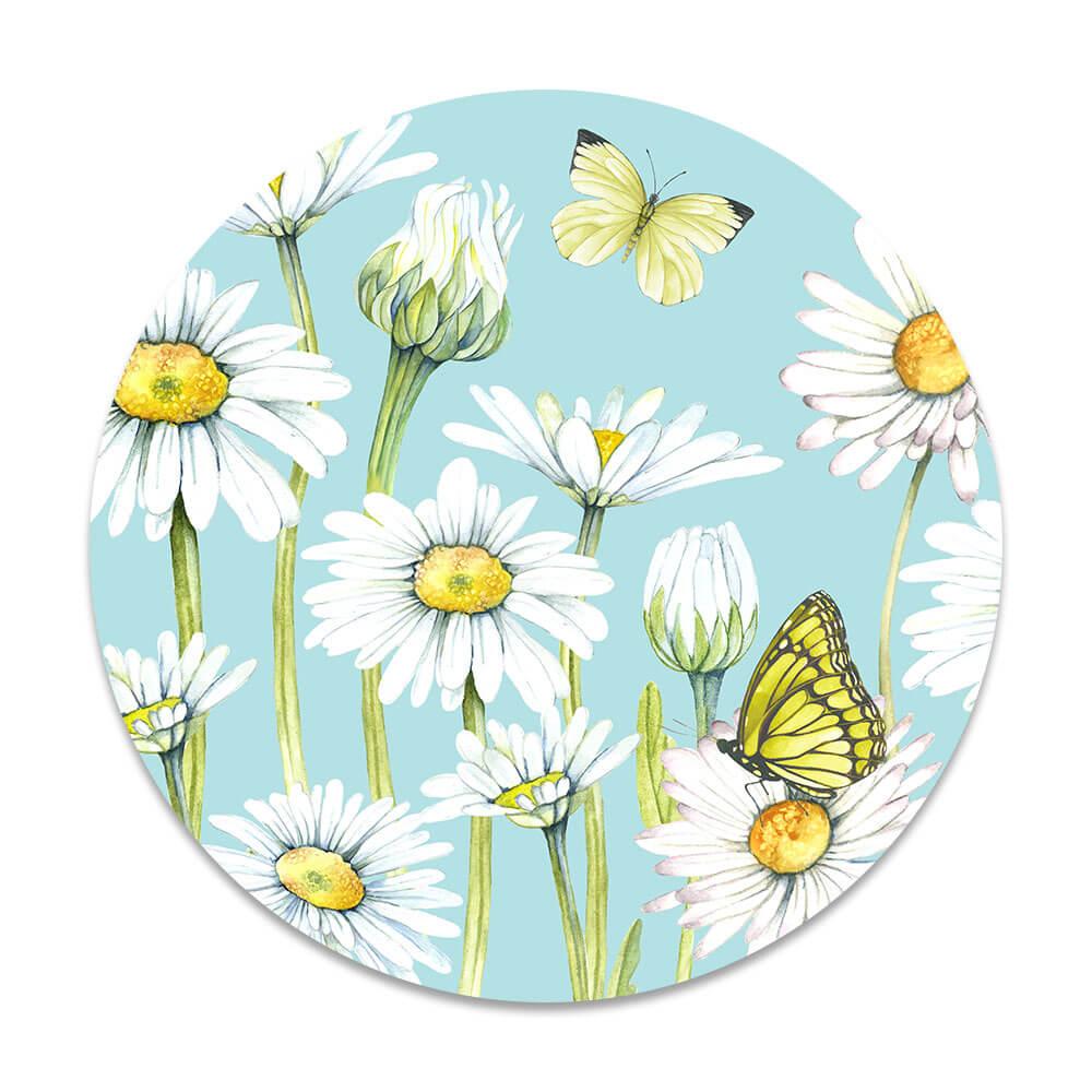 bloemetjes vlinders