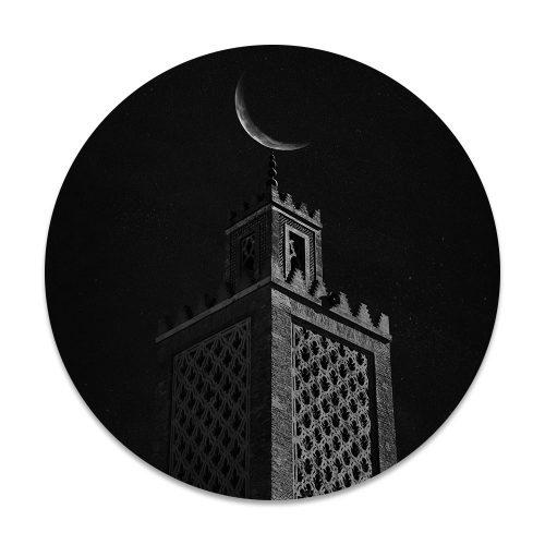 gebouw maan