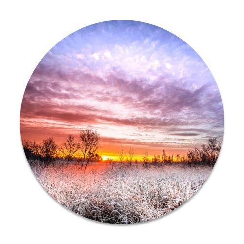 landschap zon