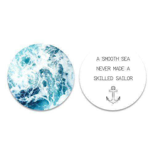 set a smooth sea