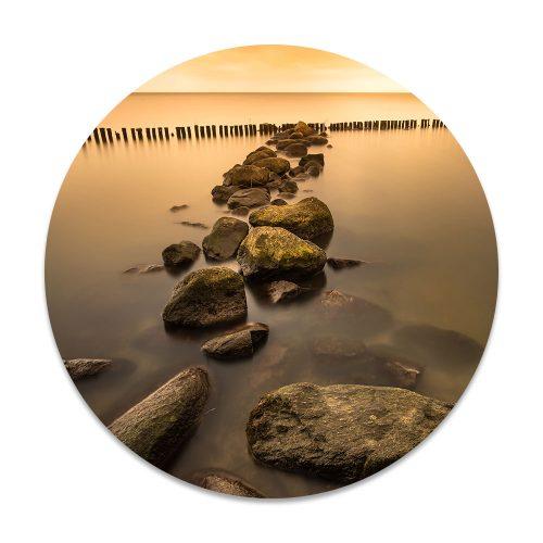 stenen in zee