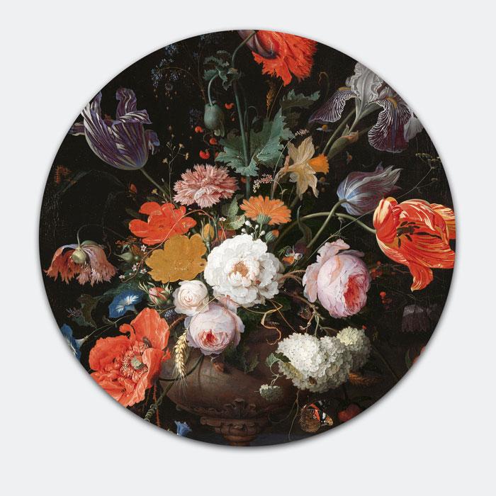 materiaal rond schilderij
