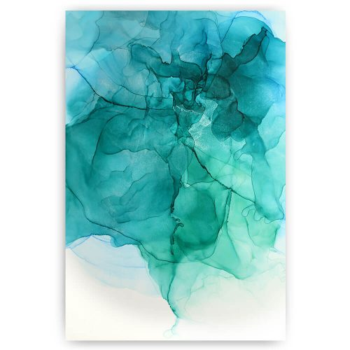 abstract patroon blauw