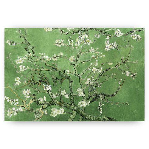 amandelbloesem olijfgroen