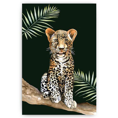 tropische oanter luipaard