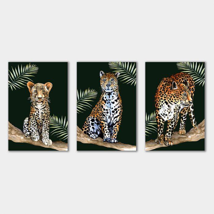 tropisch panter luipaard