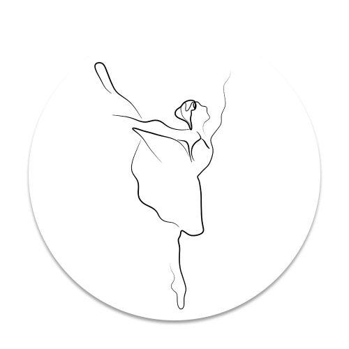 ballerina lijntekening