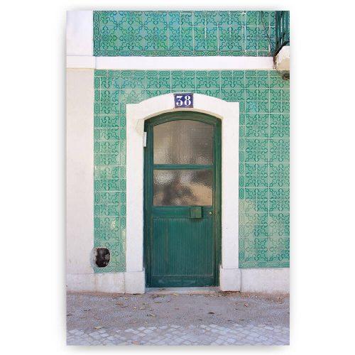 groene deur