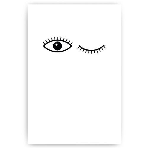 knipoog ogen