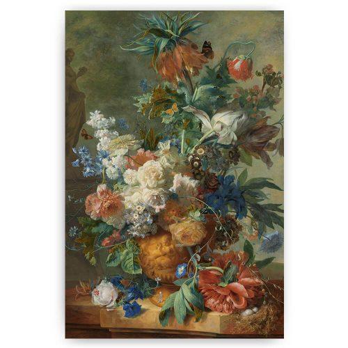Stilleven met bloemen, Jan van Huysum