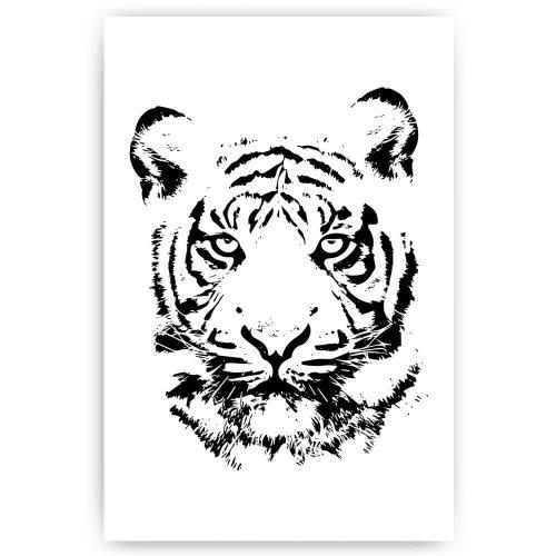 tijger illustratie
